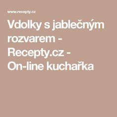 Vdolky s jablečným rozvarem - Recepty.cz - On-line kuchařka
