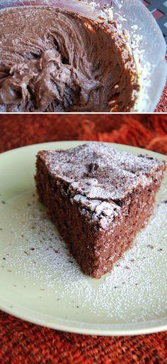 La ricetta perfetta, torta al cioccolato #italianfood
