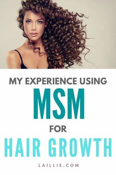 Learn how to grow your hair out as fast as possible through the use of MSM. I have been using MSM for hair growth for about a year now and am really happy with it. Make your hair grow really fast with this supplement! #hairgrowth #growyourhair #MSM #haircare #hairhealth Growing Your Hair Out, Hair Health, Grow Hair, Hair Growth, Hair Care, Happy, How To Make, Beauty, Hair Growing