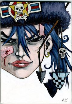 Have Pencil, Will Scribble: TANK GIRL - PAINTING