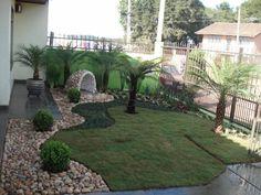 Decoration of gardens Seaside Garden, Modern Patio, Garden Landscape Design, Garden Trellis, Front Yard Landscaping, Landscaping Ideas, Garden Planning, Garden Inspiration, Plants