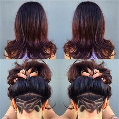 'Good Girl Gone Bad' Hairstyle
