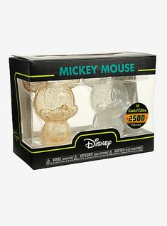 Funko Disney Mickey Mouse Gold & Silver Glitter Hikari XS Limited Edition Vinyl Figure Set Hot Topic ExclusiveFunko Disney Mickey Mouse Gold & Silver Glitter Hikari XS Limited Edition Vinyl Figure Set Hot Topic Exclusive,