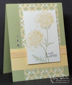 """Field Flowers,"" Stampin Up"