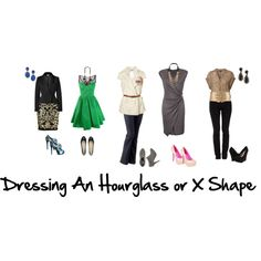 """Dressing An Hourglass or X Shape"" by aileenlane on Polyvore"