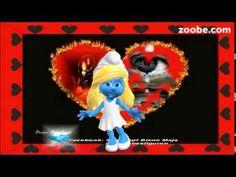 Liebe und Freundschaft - Lächeln und Tränen ;) Schlumpfine, Zoobe, Anima...