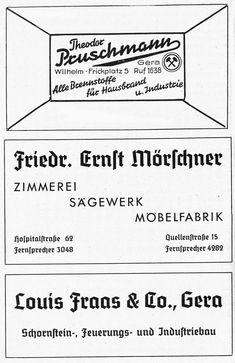 Gera, Celebration, Advertising