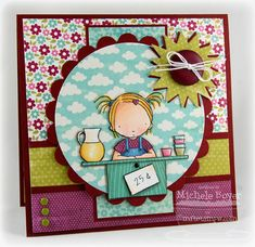 Love the coloring on this. MFT Pure Innocence stamp.