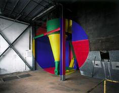 Georges Rousse: Clermont-Ferrand, 2010 (ilfochrome on aluminum). Galerie Claire Gastaud.