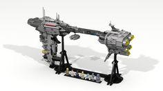 Redemption - Nebulon-B escort frigate by LDIEGOon CUUSO and Brickshelf