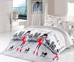 Cu o paleta de culori tonica sau neutra, lenjeriile sunt detaliile care fac diferenta in orice dormitor. Acestea aduc un plus de romantism, culoare si creeaza o atmosfera intima si relaxanta. In special datorita calitatii materialelor placute la atingere, lenjeriile iti vor inspira visele.Setul contine:-cearsaf de pilota 200x20 cm-cearsaft de pat 220x240 cm-2 fete de perna 50x70 cm