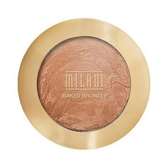 Milani Baked Bronzer ($8.49) ❤ liked on Polyvore featuring beauty products, makeup, cheek makeup, cheek bronzer, beauty, cheeks and glow