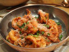 Shrimp Fra Diavolo recipe from Geoffrey Zakarian via Food Network