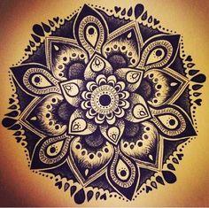Mandala Tattoo design, gorgeous