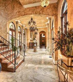 modern tuscan style house plans - Google Search | Mediterranean ...