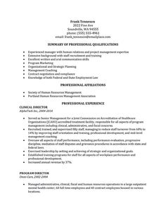 Human Resources Resume Template Human Resources Resume That Represents Your True Skill And Abilities .