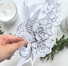 Lace Thigh Tattoos, Forarm Tattoos, Rose Tattoos, Flower Tattoos, Body Art Tattoos, Tattoo Drawings, Tattos, Frangipani Tattoo, Bird Tattoo Sleeves