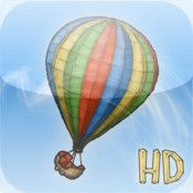 DAWINDCI - draw the wind and guide a top-down hot air balloon through various obstacle-strewn levels.