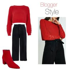 """""""Blogger Style 1"""" by sahinalara on Polyvore featuring River Island, Zimmermann and Steve Madden"""