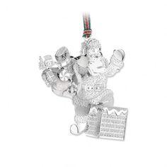 newbridge silverware santa on chimney decoration ref