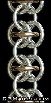 Chain Maille Tutorials love it! must try! #ecrafty jump rings: http://www.ecrafty.com/c-201-jump-rings-split-rings.aspx