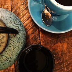 #Coffee & #tea date   #vscocam (à Kitsuné Espresso Bar) Espresso Bar, Daughters Of The King, Tea, Coffee, Tableware, Kaffee, Dinnerware, Tablewares, Cup Of Coffee