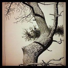 jamie hewlett trees saatchi - Google Search