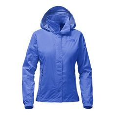 The North Face Women's Resolve 2 Hooded Rain Jacket #jacketswomen