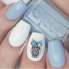 babyblue.quenalbertini: Beautiful nail art by simplymanicures | Bringyourideastolife