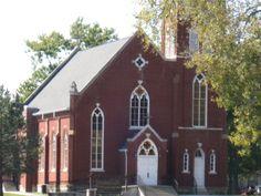 Old Catholic Church at Kaskaskia Island MO