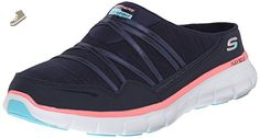 Skechers Sport Women's Air Streamer Fashion Sneaker, Navy/Pink, 7 M US - Skechers sneakers for women (*Amazon Partner-Link)