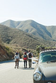 topo-designs:  Topo Designs gear in the hills of Southern California Photo via Ben Christensen