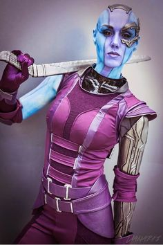 Galaxy Fantasy: Cosplay: Nebula de 'Los Guardianes de la Galaxia'