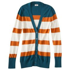 Mossimo Supply Co. Juniors Stripe Cardigan - Assorted Colors