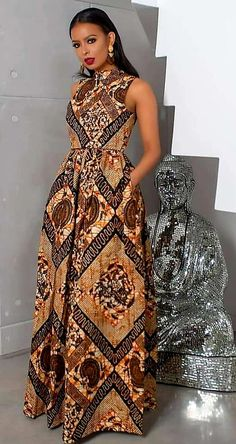 Call, SMS or WhatsApp if you want this style, needs a skilled tailor to hire or you want to expand more on your fashion business. Gazzy Consults® - Call, SMS or WhatsApp if you want this style, needs a skilled tailor to hire or. Long African Dresses, Latest African Fashion Dresses, African Inspired Fashion, African Print Dresses, African Print Fashion, Africa Fashion, Ankara Gown Styles, Ankara Dress, Dress Styles