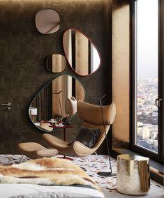 Home Room Design, Dream Home Design, Home Interior Design, Living Room Designs, Interior Decorating, House Design, Lobby Interior, Luxury Homes Interior, Interior Architecture
