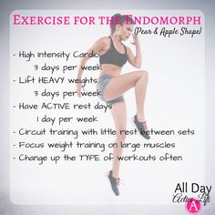 Complete workout guide for pear shape and apple shape (endomorphs). The tricks t. , Complete workout guide for pear shape and apple shape (endomorphs). The tricks t. Yoga Fitness, Fitness Tips, Shape Fitness, Fitness Humor, Fitness Exercises, Physical Fitness, Body Type Workout, Endomorph Diet, Heavy Weight Lifting