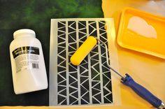 LuAnn Kessi: Discharging Fabrics with Stencils Fabric Painting, Fabric Art, Fabric Design, Sewing Hacks, Sewing Crafts, Long Arm Quilting Machine, How To Dye Fabric, Dyeing Fabric, Fabric Manipulation