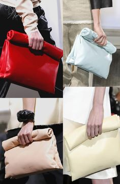 Gorgeous Celine Roll Up Clutch.<3