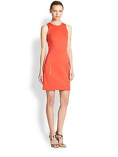 Trina+Turk Sleeveless+Ponte+Dress