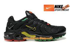 Nike Air Max Tn/Tuned Requin 2013 Chaussures Nike Basket Pas Cher Pour Homme Noir/Vert 604133-201
