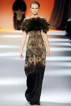 Giambattista Valli Fall 2009 Ready-to-Wear Fashion Show - Anabela Belikova (SILENT)