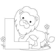 Image detail for -Animal Alphabet: Letter L Coloring Worksheet and Song