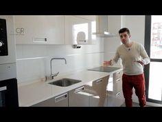 Enlace album con fotos Alta Calidad : http://www.cocinascjr.com/album/cocina-moderna-color-capuchino-y-arena-cocias-santos/ Conoce mas ha cerca de nuestro tr...