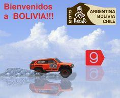 Bienvenidos A Bolivia a todos los que nos visitan por el Dakar 2015.   :)
