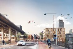 White Arkitekter Releases Plans to Reclaim Underutilized Areas of Stockholm,Courtesy of White Arkitekter