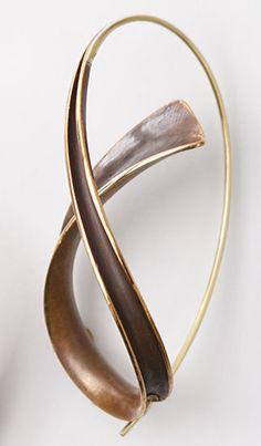 Bronze Cascade Earrings