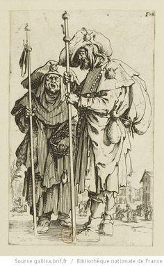 [Les gueux]. [3], [Les deux pélerins] : [estampe] / Callot fe. - 1