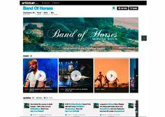 MTV da a conocer páginas Artist.MTV, trata de atrapar MySpace