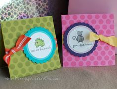 She has a ton of cute stamped cards on her blog